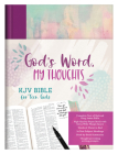 God's Word, My Thoughts KJV Bible for Teen Girls Cover Image
