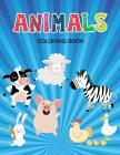 Animals Coloring Book: Coloring Book with Fun, Easy, and Relaxing for Kids & Toddlers Cover Image