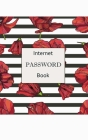 Internet Password Book: Usernames and Passwords Private Information Keeper alphabetical password book and Software License numbers information Cover Image