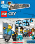 Hospital Heist! (LEGO City: Storybook with minifigures and minibuilds) Cover Image