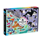 Animal Kingdom 100 Piece Double-Sided Puzzle Cover Image