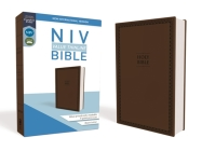 NIV, Value Thinline Bible, Imitation Leather, Brown Cover Image