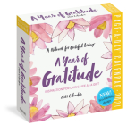 A Year of Gratitude Page-A-Day Calendar 2021 Cover Image