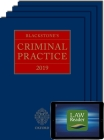 Blackstone's Criminal Practice 2019 (Book, All Supplements, and Digital Pack) [With eBook] Cover Image