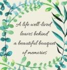 In Loving Memory Condolence Book (Hardback cover) Cover Image