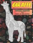 Zendoodle Malbücher - Tierbaby und andere Kreaturen - Tiere - Giraffe Cover Image
