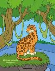 African Animals Coloring Book 6 Cover Image