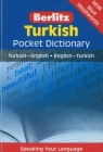Turkish Pocket Dictionary Cover Image