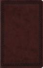 ESV Premium Gift Bible (Trutone, Mahogany, Border Design) Cover Image