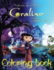 Coraline Coloring Book Cover Image
