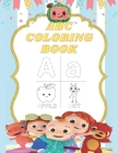 ABC Coloring Book: Cocomelon coloring book For kids ages 2-6. Cover Image