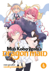 Miss Kobayashi's Dragon Maid Vol. 4 Cover Image