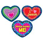 Jesus Loves Me! Sticker Pack Cover Image