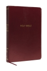 NKJV, Reference Bible, Super Giant Print, Leather-Look, Burgundy, Red Letter Edition, Comfort Print Cover Image