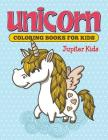 Unicorn Coloring Books For Kids Cover Image