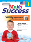 Complete Math Success Grade 1 Cover Image