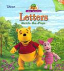Book of Pooh: Upper and Lower Case Letters: Match the Flap Cover Image