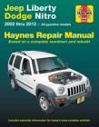 Jeep Liberty & Dodge Nitro 2002-2012 Haynes Repair Manual: (Does not include information specific to diesel models) (Haynes Automotive) Cover Image