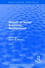 Reform of Soviet Economic Management Cover Image