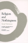 Religion and Nothingness (Nanzan Studies in Religion and Culture #1) Cover Image