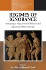 Regimes of Ignorance: Anthropological Perspectives on the Production and Reproduction of Non-Knowledge Cover Image