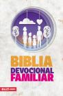 Biblia Devocional Familiar Nbv: Rústica Cover Image
