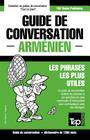 Guide de conversation Français-Arménien et dictionnaire concis de 1500 mots Cover Image