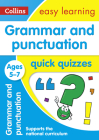 Grammar & Punctuation Quick Quizzes: Ages 5-7 (Collins Easy Learning KS1) Cover Image