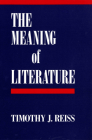 The Meaning of Literature Cover Image