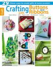 Crafting with Buttons and Ribbons Cover Image