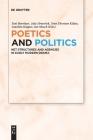 Poetics and Politics Cover Image