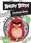 Angry Birds Movie Coloring Book Cover Image