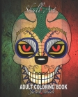 Skull Art: Fun Skull Designs For Adults Stress Relief and Relaxation. Cover Image