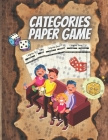Categories Paper Game: Category paper game - Have fun and Increase knowledge - Perfect for kids and adults to play, (letter, country, animal, Cover Image