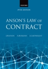 Anson's Law of Contract Cover Image