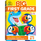 Big First Grade Workbook Cover Image