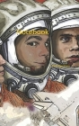Notebook: cosmonauts space science astronomy astronaut moon Cover Image