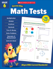 Scholastic Success with Math Tests Grade 6 Cover Image