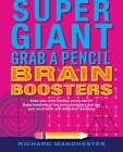 Super Giant Grab a Pencil Book of Brain Boosters Cover Image