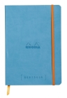 Rhodia Goalbook 6 X 8 1/4 A5 Turquoise Cover Bullet Journal Cover Image