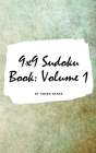 9x9 Sudoku Puzzle Book: Volume 1 (Small Hardcover Puzzle Book for Teens and Adults) Cover Image