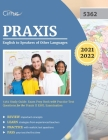 Praxis English to Speakers of Other Languages 5362 Study Guide: Exam Prep Book with Practice Test Questions for the Praxis II ESOL Examination Cover Image