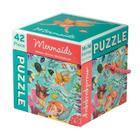 Mermaids 42 Piece Puzzle Cover Image