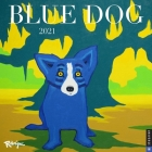 Blue Dog 2021 Wall Calendar Cover Image