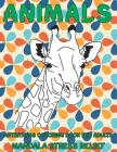 Antistress Coloring Book for Adults - Animals - Mandala Stress Relief Cover Image