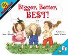 Bigger, Better, Best! (MathStart 2) Cover Image
