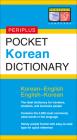 Pocket Korean Dictionary: Korean-English English-Korean (Periplus Pocket Dictionary) Cover Image
