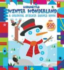 Winter Wonderland: A Colorful Sticker Shapes Book (Gommettes) Cover Image