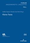 Kleine Texte (Forum Angewandte Linguistik - F.A.L. #66) Cover Image