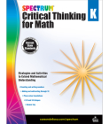 Spectrum Critical Thinking for Math, Grade K Cover Image